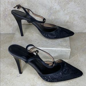 Banana Republic | lace strapped heels 10